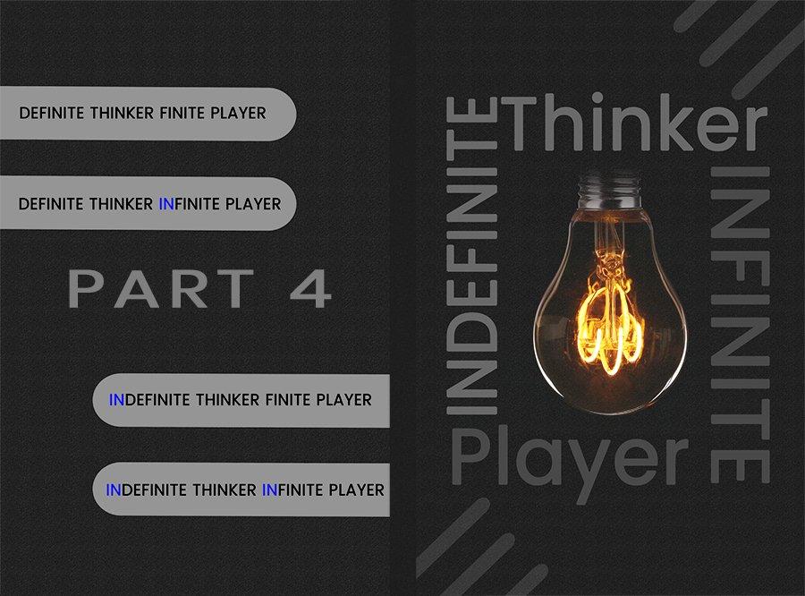 Indefinite Thinker Infinite Player Part 4