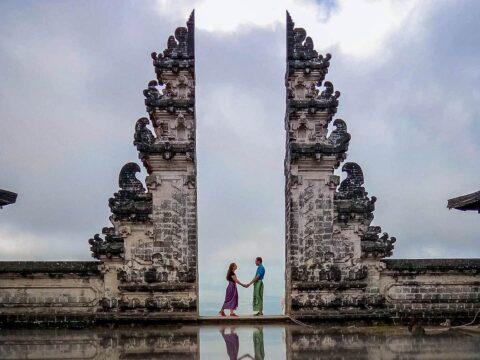 Pura Lempuyang Luhur Bali Asia